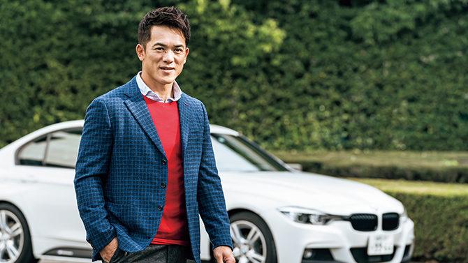 野球界のレジェンド松井稼頭央が体感。レースの技術を注いだBMW 320d 「BMW M Performance Parts Motorsport Edition」